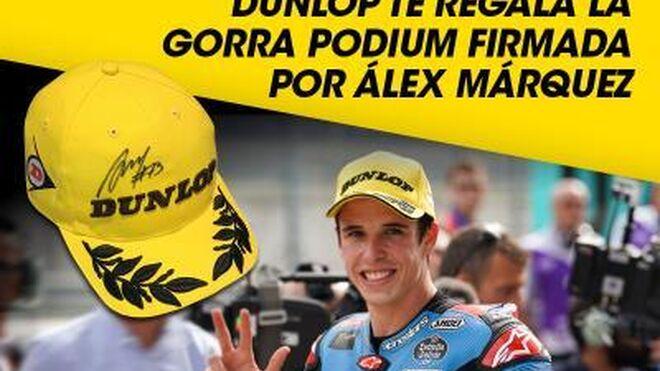 Dunlop sortea 5 gorras firmadas por Álex Márquez
