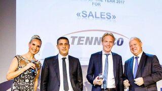El equipo de posventa europea de Tenneco, premiado como Proveedor del Año