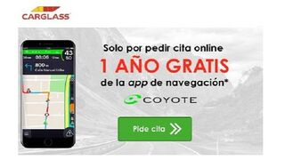 Carglass regala un año de suscripción a la app Coyote