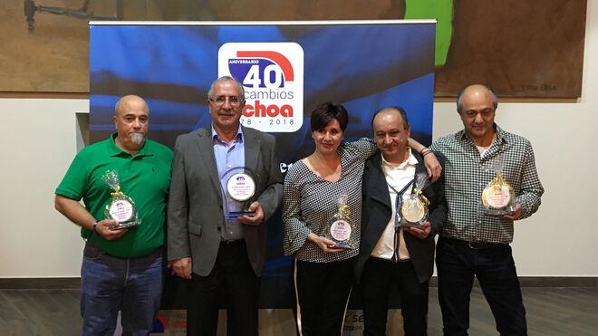 Recambios Ochoa homenajea a sus trabajadores con más de 25 años de servicio