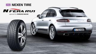 Nexen Tire, equipo original para el Porsche Macan