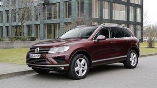 Volkswagen llama a revisión 57.600 unidades del Touareg