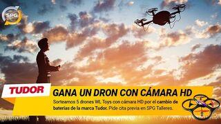 SPG Talleres y Tudor sortean cinco drones estas Navidades