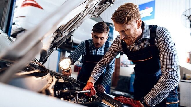La mayoría de intervenciones de los talleres se debe a averías en los coches