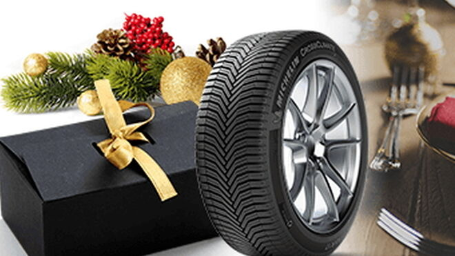 Euromaster regala cestas de Navidad con Michelin