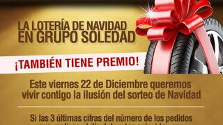 Grupo Soledad también premia la Lotería de Navidad