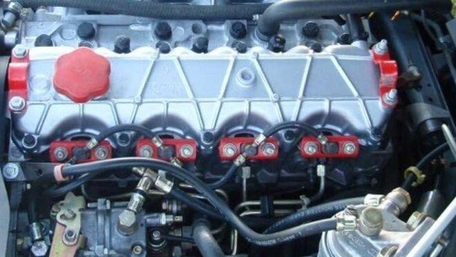 Motor diésel.