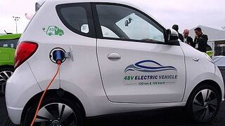 Valeo presenta un vehículo 100% eléctrico con carga de baja tensión