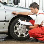 Inspección de neumáticos.