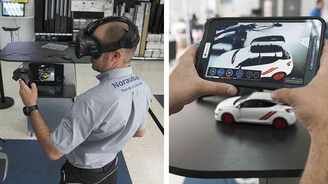 Norauto ofrece una experiencia de realidad virtual de sus productos al usuario