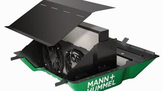 Mann+Hummel desarrolla un filtro para el primer vehículo neutro en emisiones