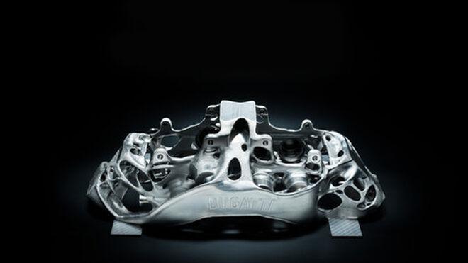 Bugatti desarrolla la primera pinza de freno mediante 3D