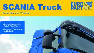 Europart edita su primer catálogo para camiones Scania