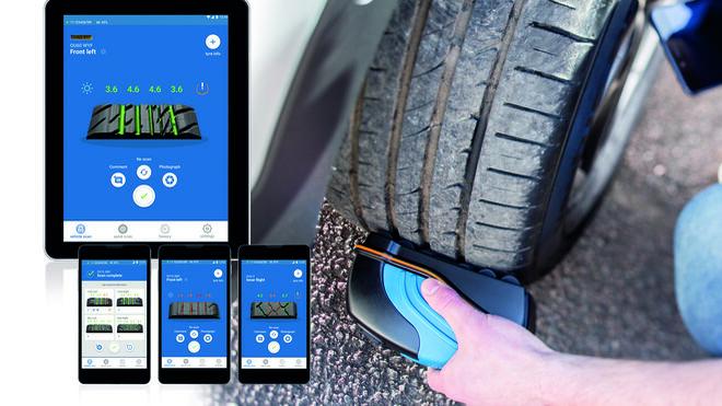 Ryme presenta un escáner de huellas de neumáticos 3D