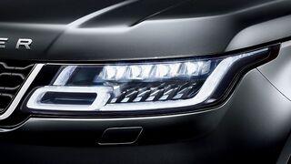Range Rover incorpora módulos Smartrix y luz láser de Osram