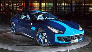 R-M desarrolla un tono azul celeste para el Ferrari GTC4 Lusso