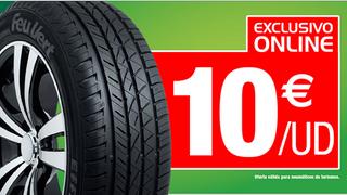 Feu Vert ofrece descuentos en el montaje de neumáticos