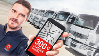 Renault Trucks ofrece cheques ahorro a los clientes de sus talleres oficiales