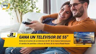 SPG sortea un televisor con el cambio de discos o pastillas de freno Road House
