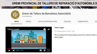 El Gremi de Talleres de Barcelona apuesta por el video