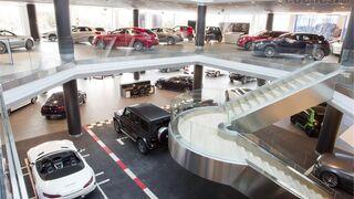 Mercedes-Benz España abre su mayor concesionario en Madrid