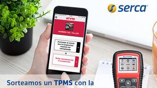 Consigue un aparato TPMS con la app de KYB