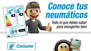 Confortauto informa sobre el etiquetado europeo de neumáticos