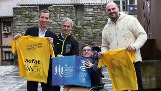 Sinnek pintará de amarillo la Maratón Martín Fiz