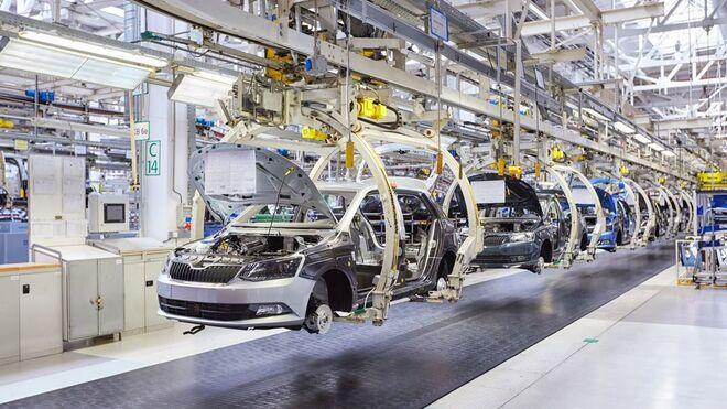 La producción de vehículos en España creció el 9,8% en enero