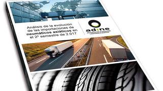 La importación del neumático asiático creció el 11,9% en el 2º semestre de 2017