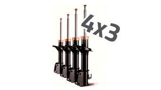 Grovisa lanza una promoción de 4x3 en amortiguadores