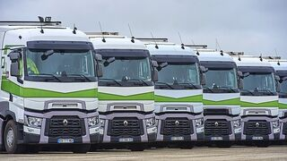 Renault Trucks incorpora Optifleet en el móvil para la gestión de flotas