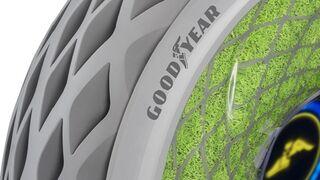 Goodyear presenta un neumático con musgo para una movilidad limpia
