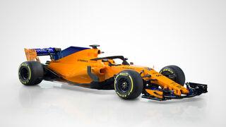 AkzoNobel desarrolla el color principal del monoplaza MCL33 de McLaren
