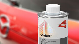 El tinte de Cromax para reparar el Soul Red Crystal de Mazda