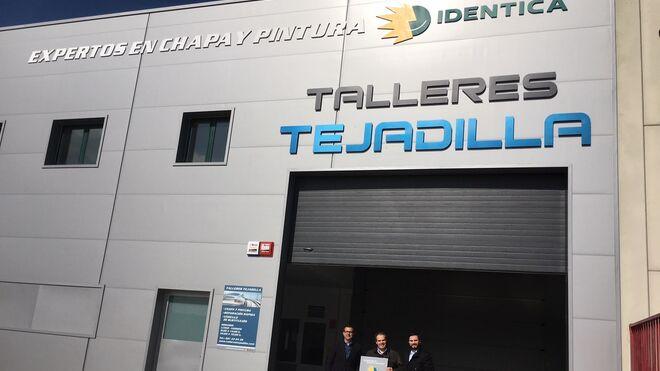 Talleres Tejadilla, primer asociado en Segovia de la red Identica
