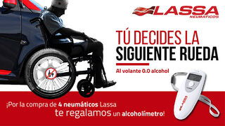 Safame estrena campaña: 'Al volante 0.0 alcohol'