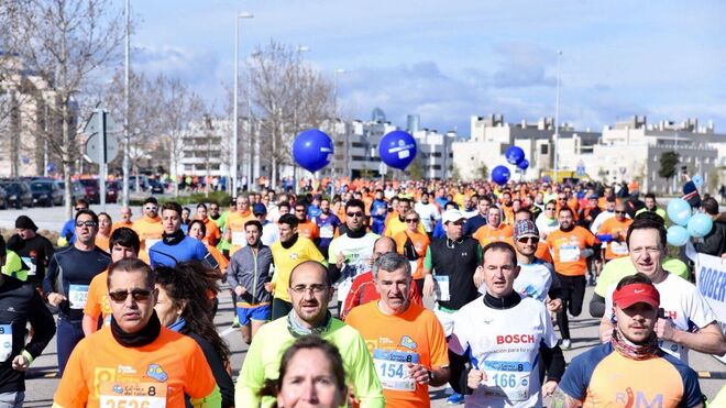 La VIII Carrera del Taller reunió a 2.500 corredores