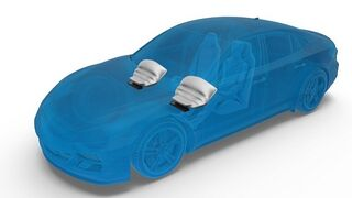 ZF presenta un nuevo módulo de airbag de rodilla más ligero