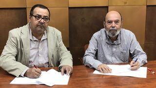 Asintra firma un convenio de colaboración con Iteuve Canarias