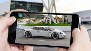 Porsche acerca su futuro coche eléctrico a los clientes gracias a la realidad aumentada