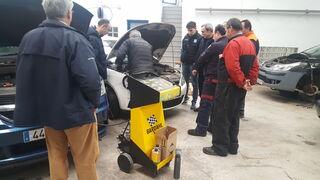 Bardhal forma en procesos de limpieza de motores afectados por carbonilla