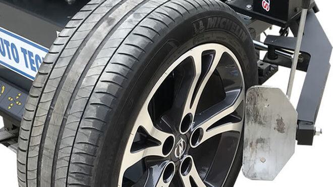 Leonet Servis presenta su base de rodillos para el desmontaje de neumáticos