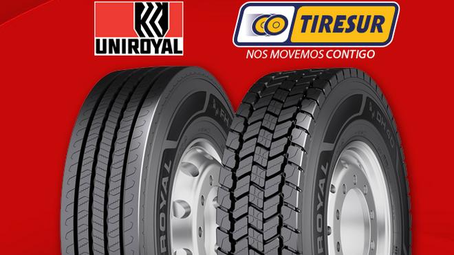 Tiresur distribuye en exclusiva la gama TBR de Uniroyal en España
