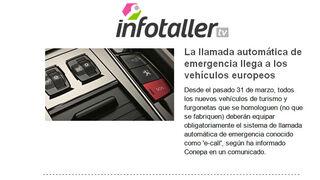 Nuevo servicio de Alertas de Infotaller