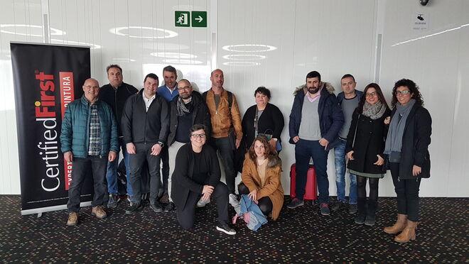 CertifiedFirst formó a 14 talleres de la red en marketing digital