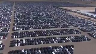 Los cementerios diésel de VW ya albergan miles de coches