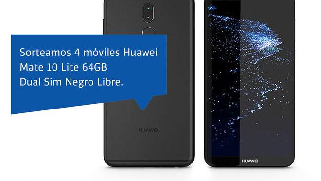 Profesional Plus sortea cuatro móviles Huawei