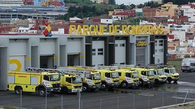 Se incendia un taller mecánico de Conil (Cádiz)