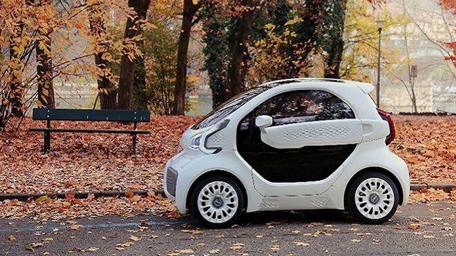 Los coches eléctricos también se imprimen en 3D